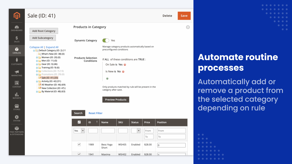 automate category assignment routine
